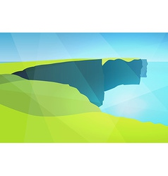 Cliffs of Moher vector image vector image