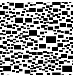Abstract monochrome simple rectangle vector