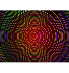 Abstract technology background - colorful lines in vector image