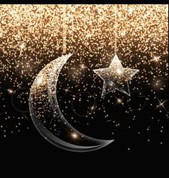 Background ramadan kareem vector