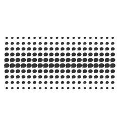 Hint shape halftone array vector