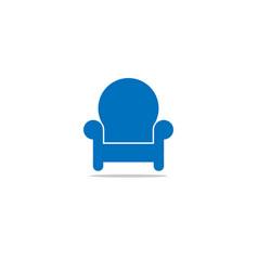 Home furnishing interior design template vector