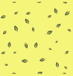 leaf green seamless pattern color vector image