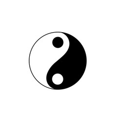 new year china yin-yang icon can be used for vector image