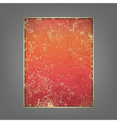 Report pink and red sun rise vintage background vector