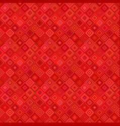seamless abstract diagonal square mosaic pattern vector image