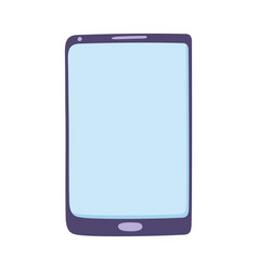 smartphone device digital technology isolated vector image