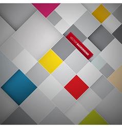 square bg vector image