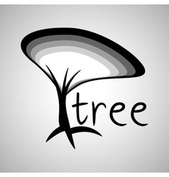 Tree design eco concept natural icon editable vector image