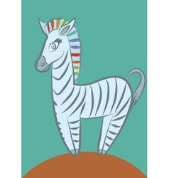 zebra2 vector image