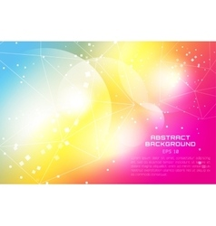 Abstract background design Shine glow background vector image vector image