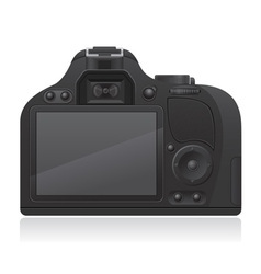 photo camera 02 vector image