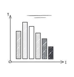 black and white graphic on vector image vector image