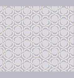 abstract floral ornamental pattern geometric vector image