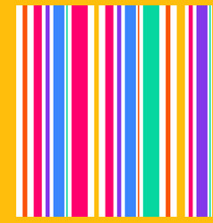 abstract seamless rainbow color stripes line vector image