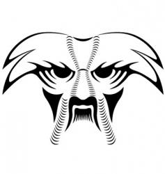 animal tattoo vector image
