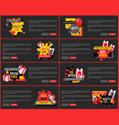 Discount holiday prices on web pages best sale vector