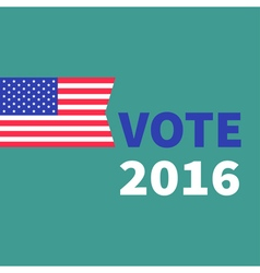 President election day 2016 Voting concept vector