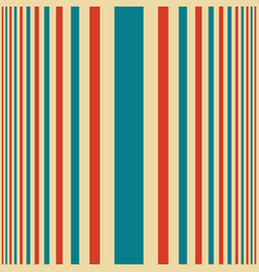 Vertical blue and red shades stripes print vector