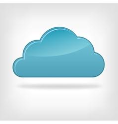 Icon cloud vector
