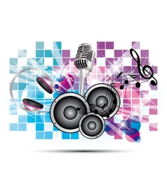 background music vector image