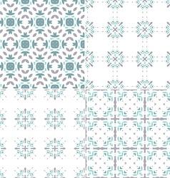 Blue Patterns vector image