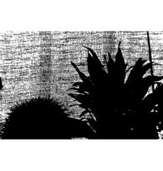 Grunge Plants vector image