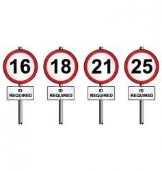 Age restriction vector