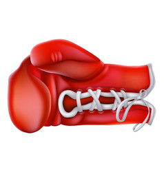 boxing glove vector image
