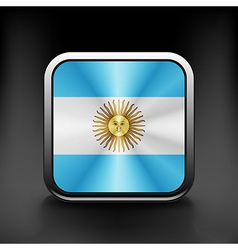 original and simple Argentina flag isolated vector image