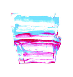 pink purple magenta blue watercolor texture vector image