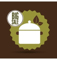 big sale food healthy cooking vector image vector image