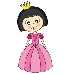 Princess Costume vector image vector image