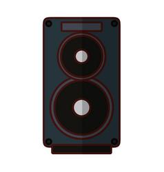 speaker music instrument vector image vector image