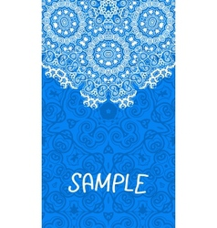 Flyer wedding or invitation card Vertical banner vector image