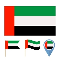 United Arab Emiratescountry flag vector image