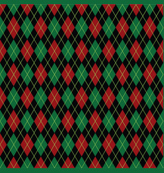 Argyle christmas paper background pattern vector