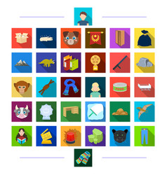 Business hygiene animal and other web icon in vector