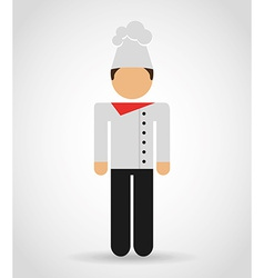 chef man vector image