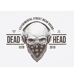 Dead Head vector image