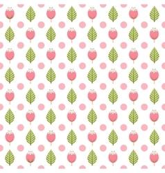 Seamlesas Spring pattern vector image