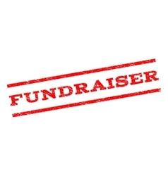 Fundraiser watermark stamp vector