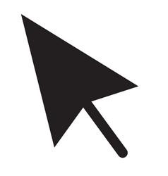 Cursors icon flat design style vector