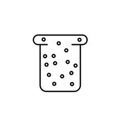 dietary bread icon vector image