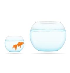 Aquarium with fish 08 vector