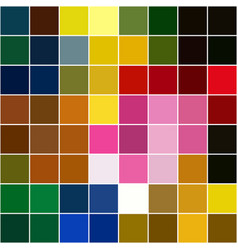 Background different colors separated squares vector