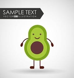 Character food design vector
