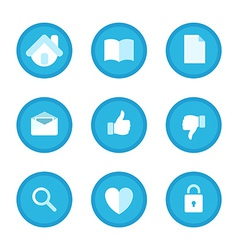 Education Business and Office Set icons vector image