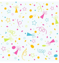 Template birthday background vector