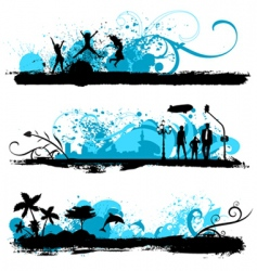 lifestyle design vector image vector image